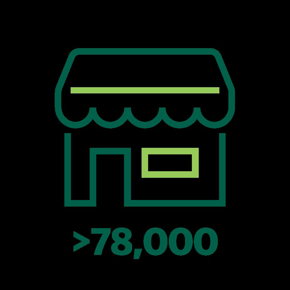 Lebih dari 78,000 mitra merchant baru yang bergabung bersama Grab
